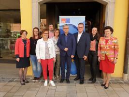 Oberfränkische SPD Politiker und Martin Lücke