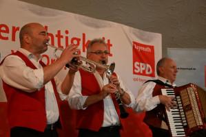 Musikalische Umrahmung durch die Wiesentaler Musikanten