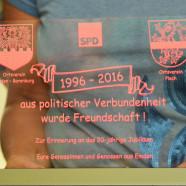 Seit nunmehr 20 Jahre pflegen die SPD Ortsvereine Emden-Barenburg und Plech eine intensive Freundschaft.