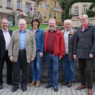 Die Mitglieder des SGK Vorstandes Bayreuth Land