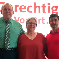 Kreisrätin Sonja Wagner aus Pegnitz steht für weitere zwei Jahre an der Spitze des SPD-Kreisverbandes Bayreuth-Land.
