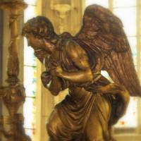 Engel in der Abbaye aux Dames Caen