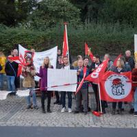 KreisSPD und Jusos Bayreuth beteiligen sich an Demo gegen AfD