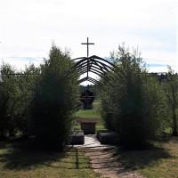 Die Weidenkirche Plech im Frühjahr